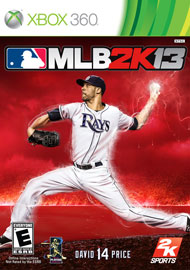 MLB 2K13 Box Art