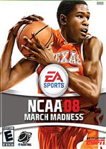 NCAA March Madness 08 box art