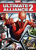 Marvel: Ultimate Alliance 2 box art