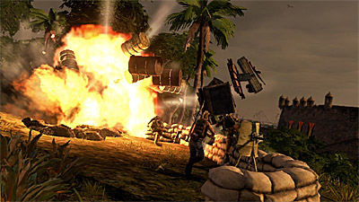 Mercenaries 2: World in Flames screenshot
