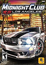 Midnight Club: Los Angeles box art