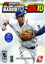 Major League Baseball 2K10 box art