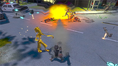 Monster Madness: Battle for Suburbia screenshot