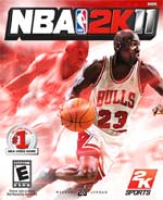 NBA 2K11 box art