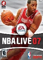 NBA Live 07 box art