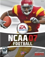NCAA Football 07 box art