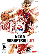 NCAA Basketball 2010 box art