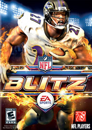 NFL Blitz Box Art