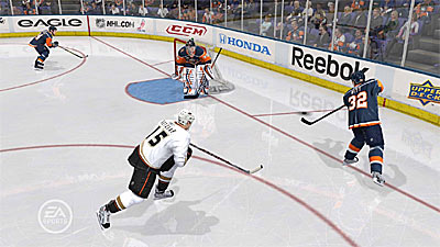 NHL 10 screenshot