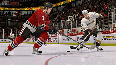 NHL 2K10 screenshot