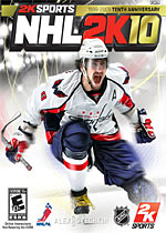 NHL 2K10 box art