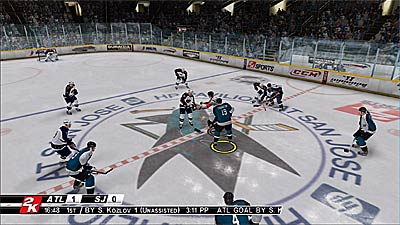 NHL 2K8 screenshot