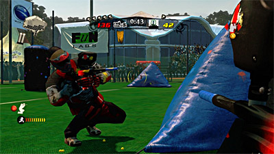 NPPL Championship Paintball 2009 screenshot