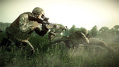 Operation Flashpoint: Dragon Rising screenshot