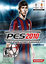 Pro Evolution Soccer 2010 box art
