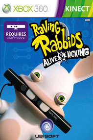 Raving Rabbids: Alive & Kicking Box Art