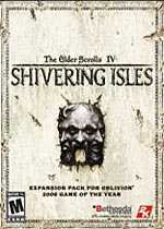 The Elder Scrolls: Shivering Isles box art