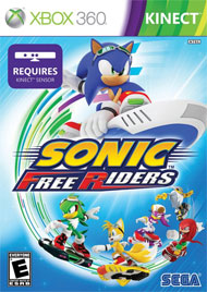 Sonic: Free Riders box art
