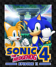 Sonic the Hedgehog 4: Episode II Box Art
