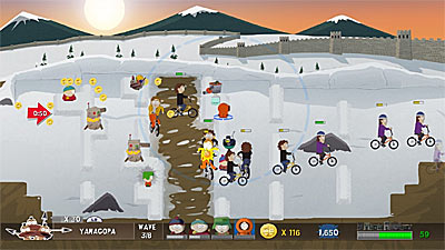 South Park Let's Go Tower Defense Play! screenshot