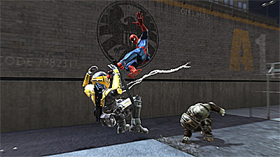Spider-Man: Web of Shadows screenshot