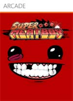Super Meat Boy box art