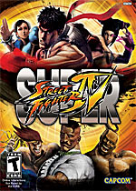 Super Street Fighter IV box art