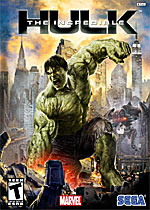 The Incredible Hulk box art