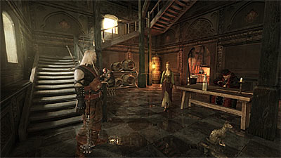 The Witcher: Rise of the White Wolf screenshot
