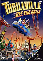 Thrillville: Off the Rails box art