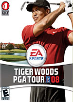Tiger Woods PGA Tour 08 box art