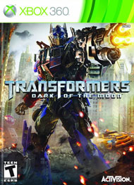 Transformers: Dark of the Moon Box Art