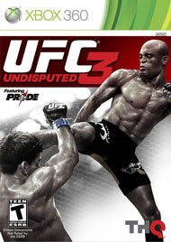 UFC Undisputed 3 Box Art