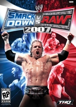 WWE Smackdown! vs. Raw 2007 box art