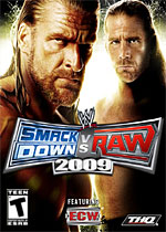 WWE SmackDown! Vs. Raw 2009 box art