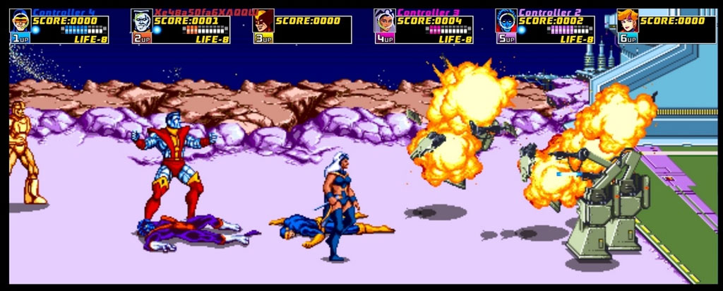 X-Men: The Arcade Game Screenshot