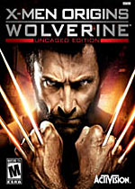 X-Men Origins: Wolverine - Uncaged Edition box art