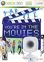 You're in the Movies box art